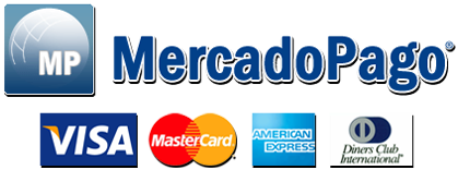 Aceptamos Todas las Tarjetas de Crédito mediante Mercado Pago